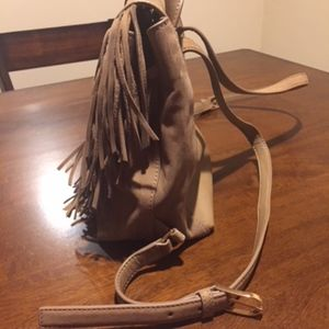 686739c39823 Tory Burch Bags - Tory Burch Harper Fringe Nubuk Mini Backpack- NEW!
